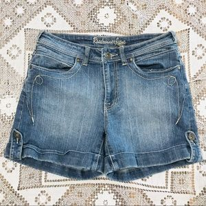 Vintage Roadrunner Jeans denim shorts blue sz 6